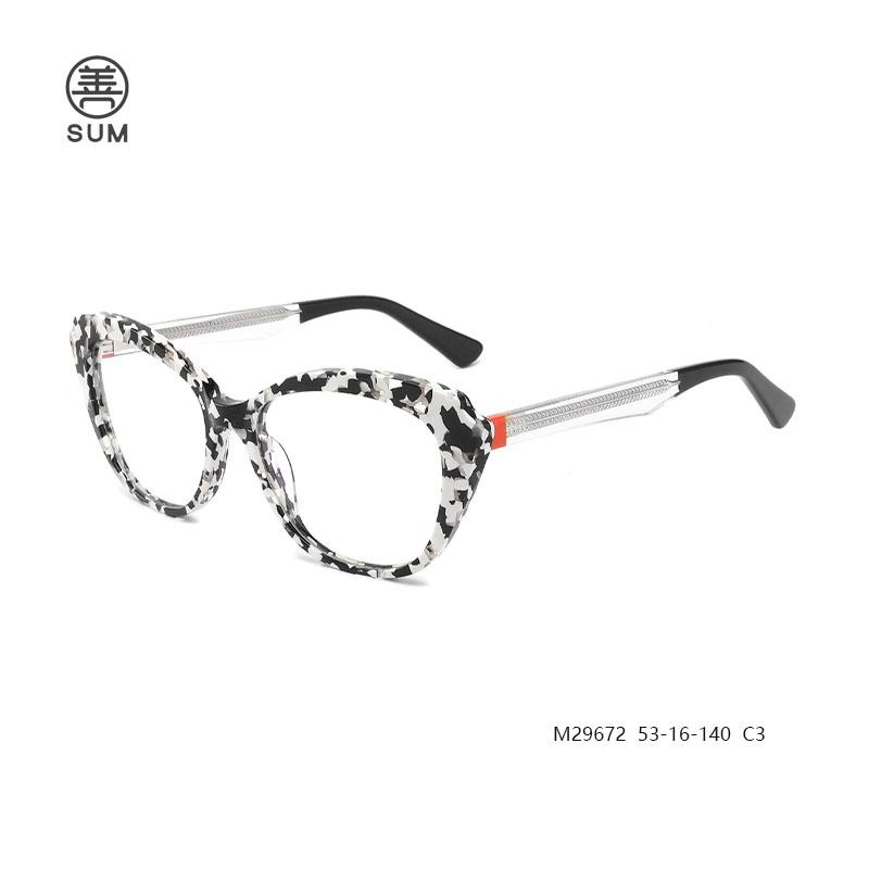 Cat Eye Glasses M29672 M29672 C3