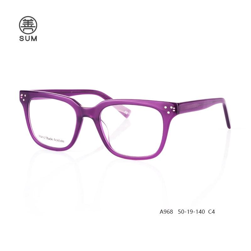 Classic Acetate Optical Frames A968 C4