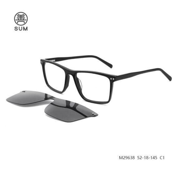 Clip On Eyeglasses For Men M29638 C1