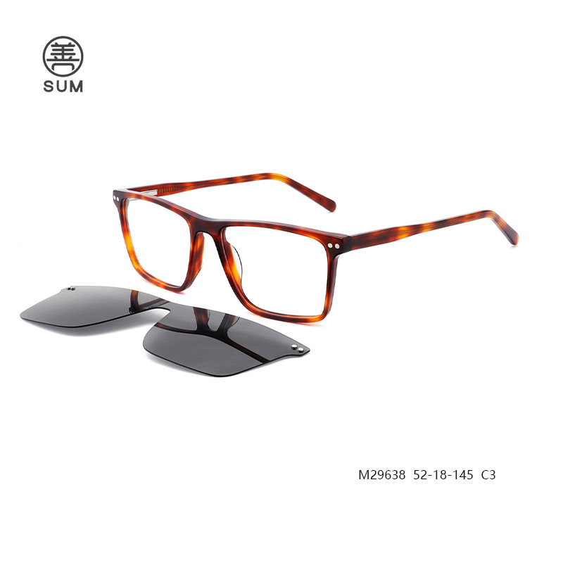 Clip On Eyeglasses For Men M29638 C3