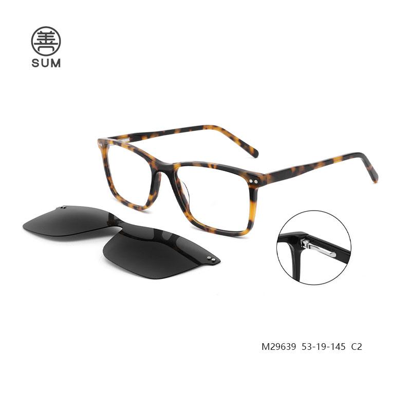 Clip On Eyeglasses For Men M29639 C2