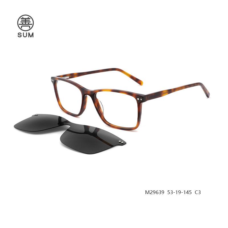 Clip On Eyeglasses For Men M29639 C3