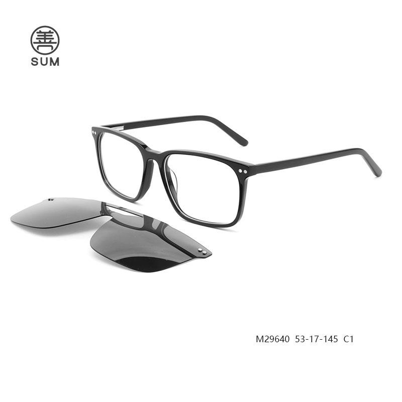 Clip On Eyeglasses Ready Stock M29640 C1