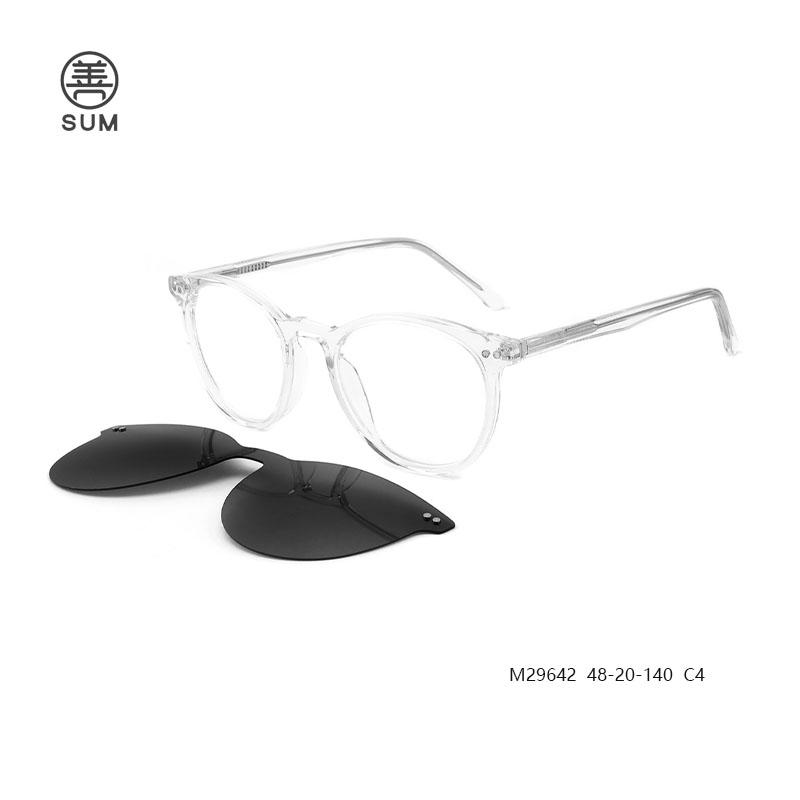 Clip On Opticla Frames M29642 C4