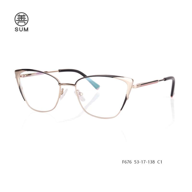 Fashion Ladies Eyeglasses F676 C1