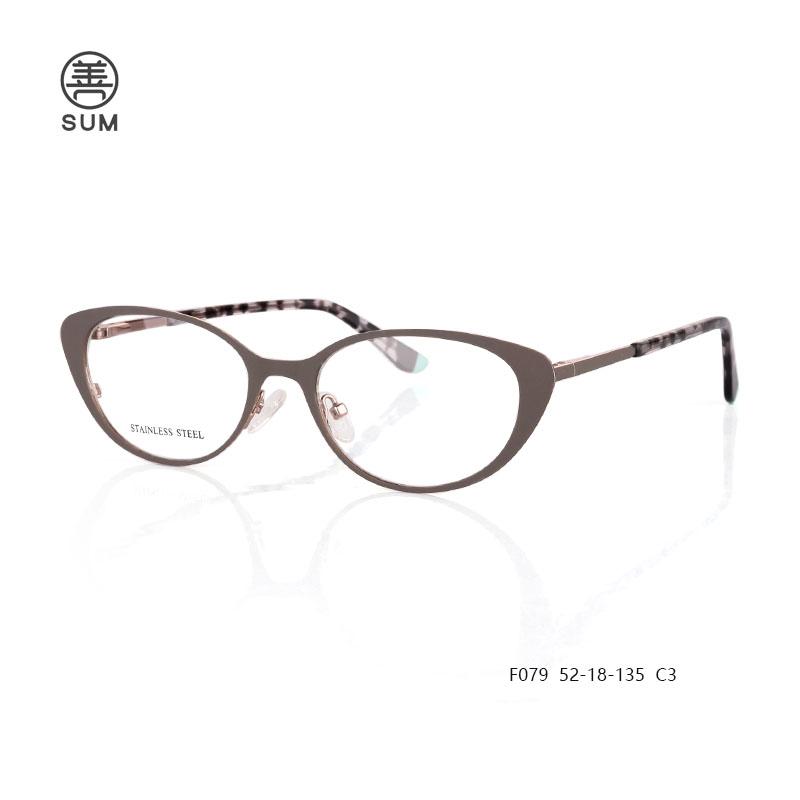 Metal Cat Eyewear F079 C3