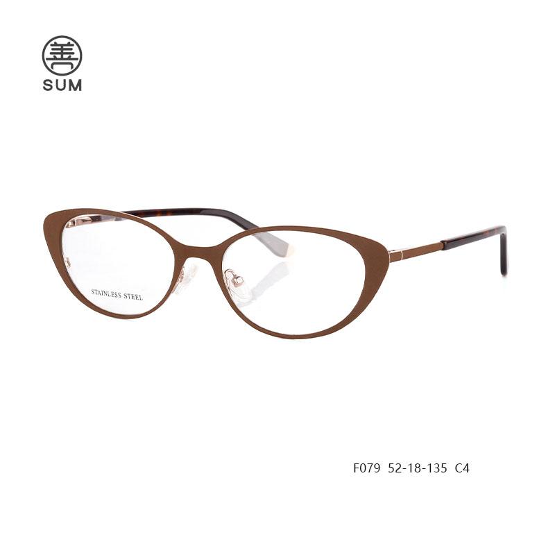 Metal Cat Eyewear F079 C4