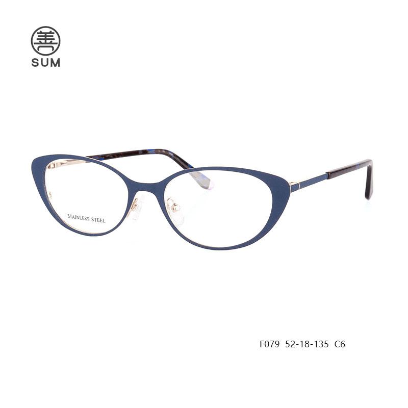 Metal Cat Eyewear F079 C6