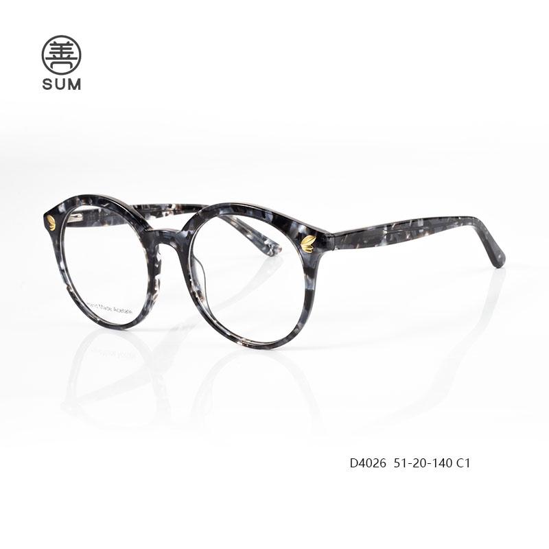 Fashion Aceate Optical Frames For Euro Market D4026 C1