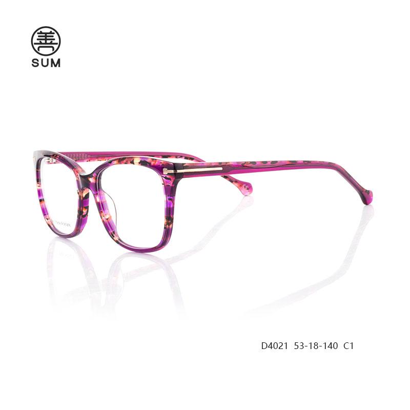 Fashion Eyeglasses D4021 C1