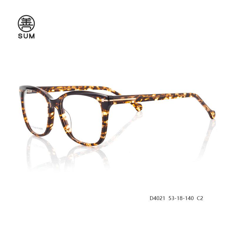 Fashion Eyeglasses D4021 C2