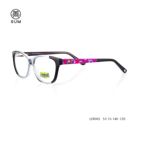 Kids Acetate Optical Frames Ler065 C5